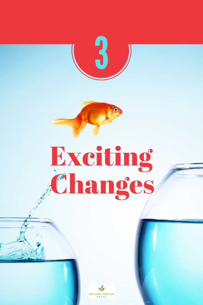 Exciting Changes